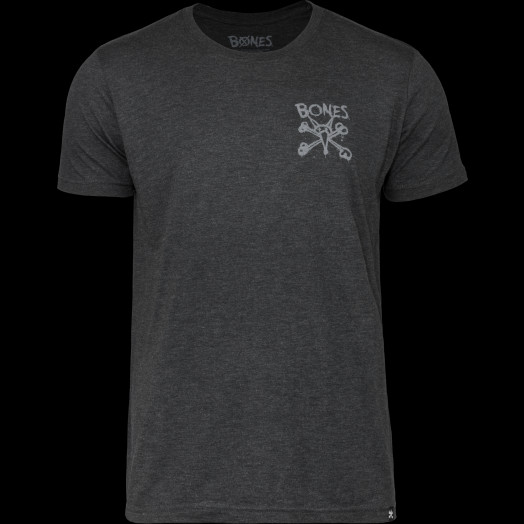 BONES WHEELS X-BONES T-shirt Black