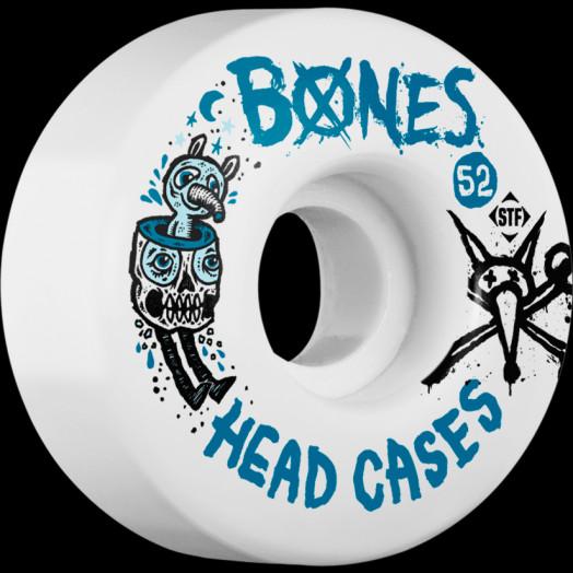 BONES STF Head Case 52x30 V1 Skateboard Wheel 83B 4pk