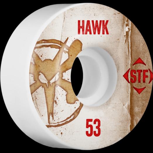 BONES WHEELS STF Pro Hawk Team Vintage Wheel 53mm 4pk