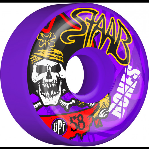 BONES WHEELS SPF Pro Staab Pirate II Wheel 58mm 4pk