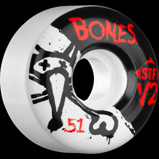 BONES STF V2 Series 51x28 Skateboard Wheel 83B 4pk