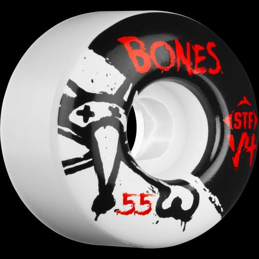 BONES STF V4 Series 55x34 Skateboard Wheel 83B 4pk