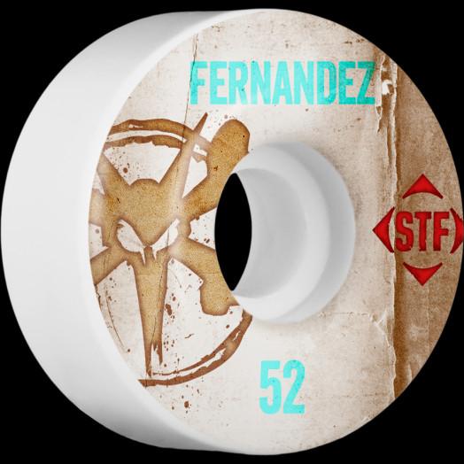 BONES WHEELS STF Pro Fernandez Team Vintage Wheel 52mm 4pk