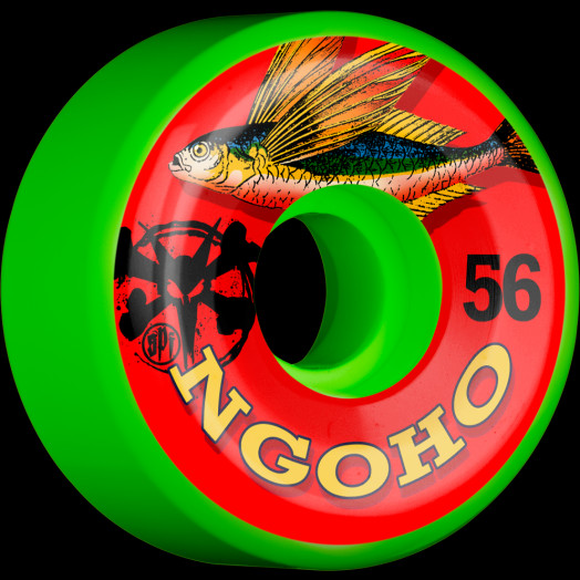 BONES WHEELS SPF Pro Ngoho Fish Wheel 56mm 4pk