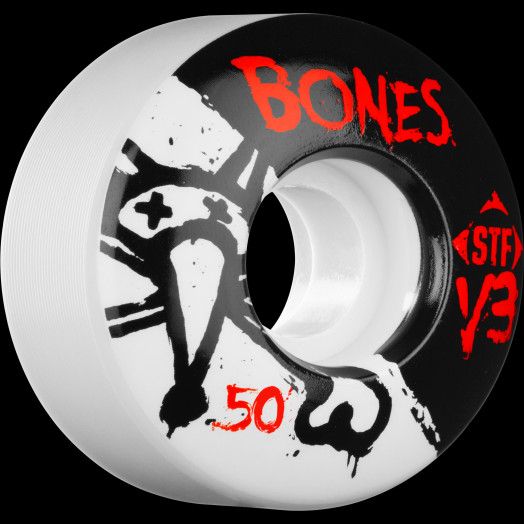 BONES STF V3 Series 50x28 Skateboard Wheel 83B 4pk