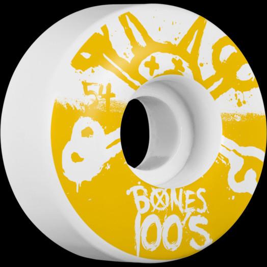 BONES WHEELS 100's 54mm 4pk