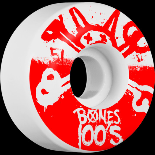 BONES WHEELS 100's 51mm 4pk