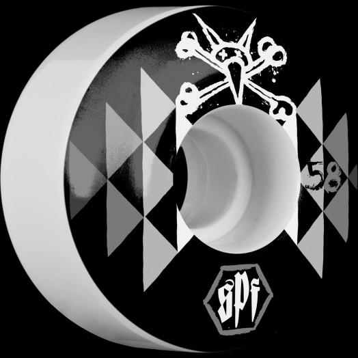BONES SPF Fireball 58x37 P2 Skateboard Wheel 84B 4pk