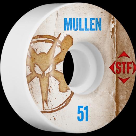 BONES WHEELS STF Pro Mullen Team Vintage Wheel 51mm 4pk