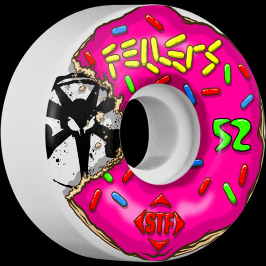 BONES WHEELS STF Pro Fellers Sprinkles 52mm wheels 4pk