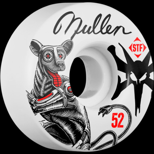 BONES WHEELS STF Pro Mullen Mutt 52mm wheels 4pk