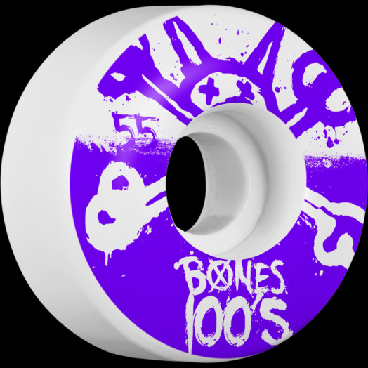 BONES WHEELS 100's 55mm 4pk