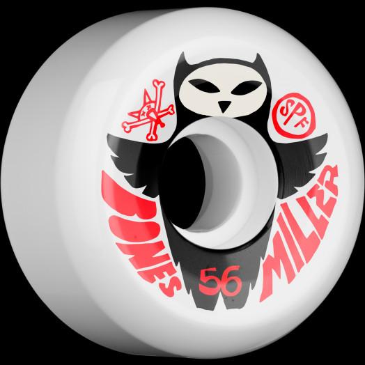 BONES SPF Pro Miller Owl 58x34 P5 Skateboard Wheel 84B 4pk