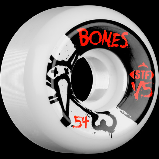 BONES STF V5 Series 54x31 Skateboard Wheel 83B 4pk