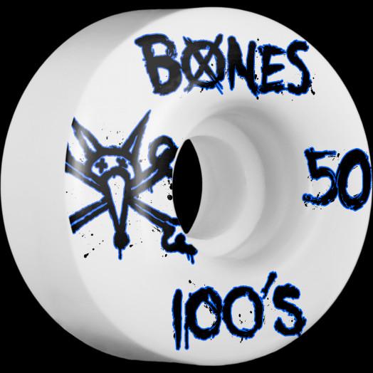 BONES WHEELS 100's 50mm (4pack)