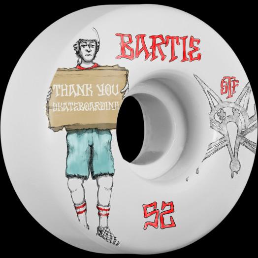 BONES STF Pro Bartie Thank You 52x31 V1 Skateboard Wheel 83B 4pk