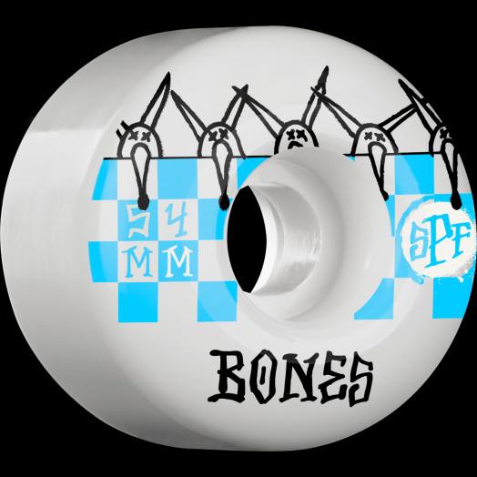 BONES SPF Tiles 54x36 P2 Skateboard WHeel 84B 4pk