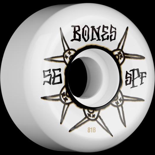 BONES SPF Ratz 56x32 P5 Skateboard Wheel 81B 4pk