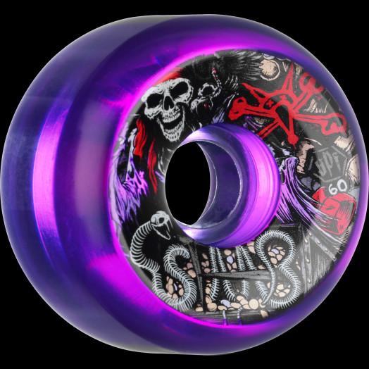 BONES SPF Pro Staab Ghost Pirate 60x34 P5 Skateboard Wheel 4pk