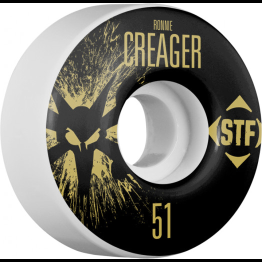 BONES WHEELS STF Pro Creager Team Wheel Splat 51mm 4pk