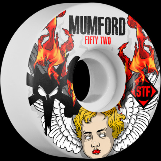 BONES WHEELS STF Pro Mumford Angel 52mm wheels 4pk
