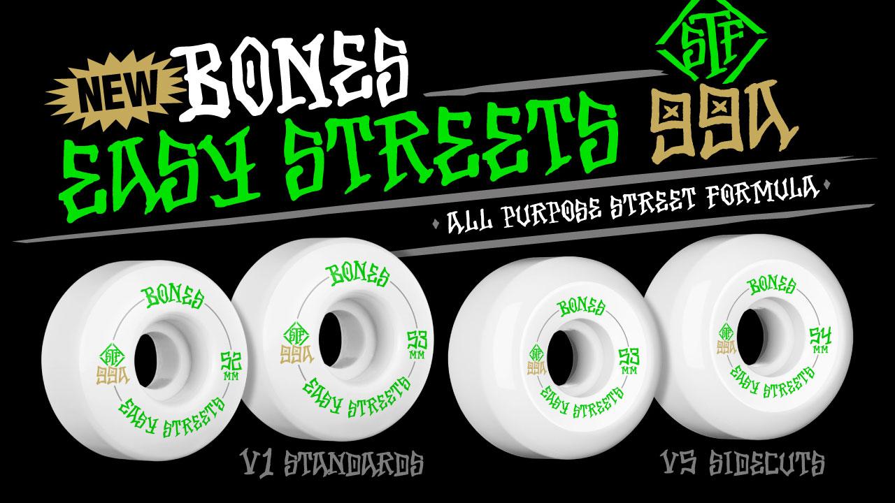 Bones Easy Streets wheels stf Canada